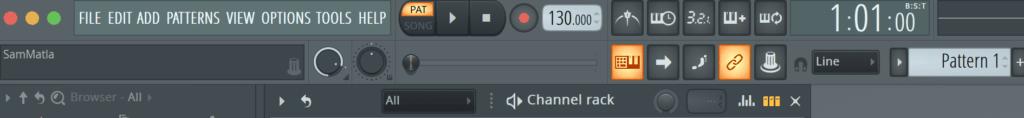 bản điều khiển FL Studio 20