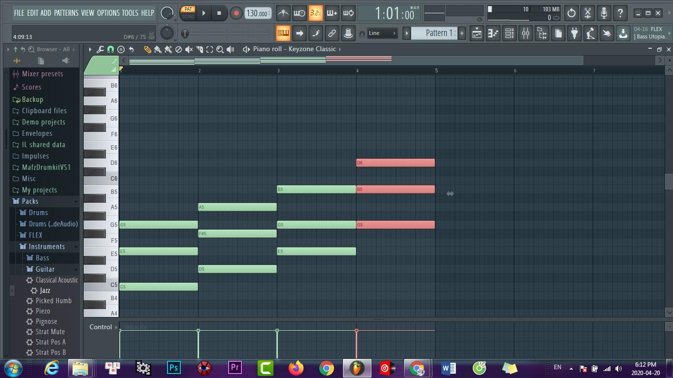Những vòng hợp âm thường dùng khi sáng tác nhạc